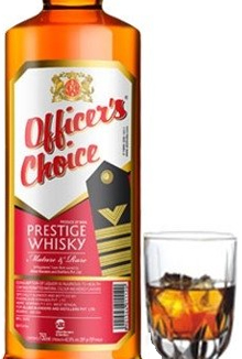 Image result for Officers Choice Whisky