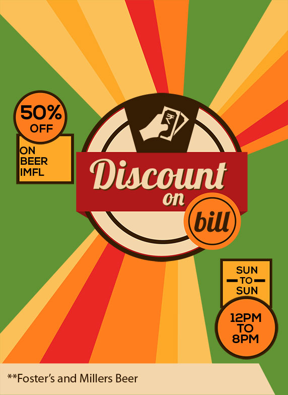 Get 50 Discount On Beer And Imfl During Happy Hours At The Muse Bar And Kitchen Indiranagar